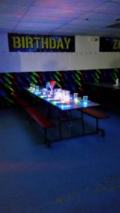 glow birthday party
