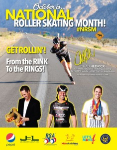 October is National Roller Skating Month