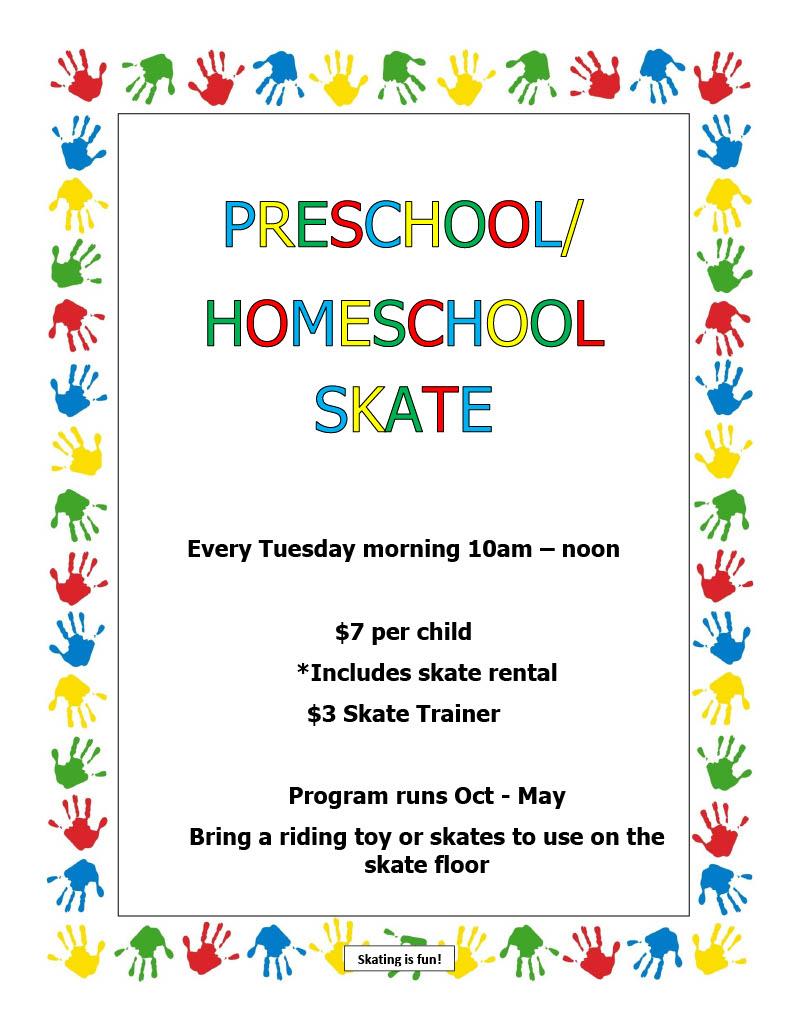 Preschool – Homeschool Skate10241024_1