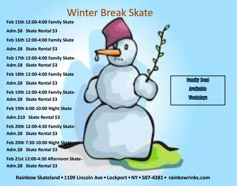 Rainbow Skateland - Winter Break 2021