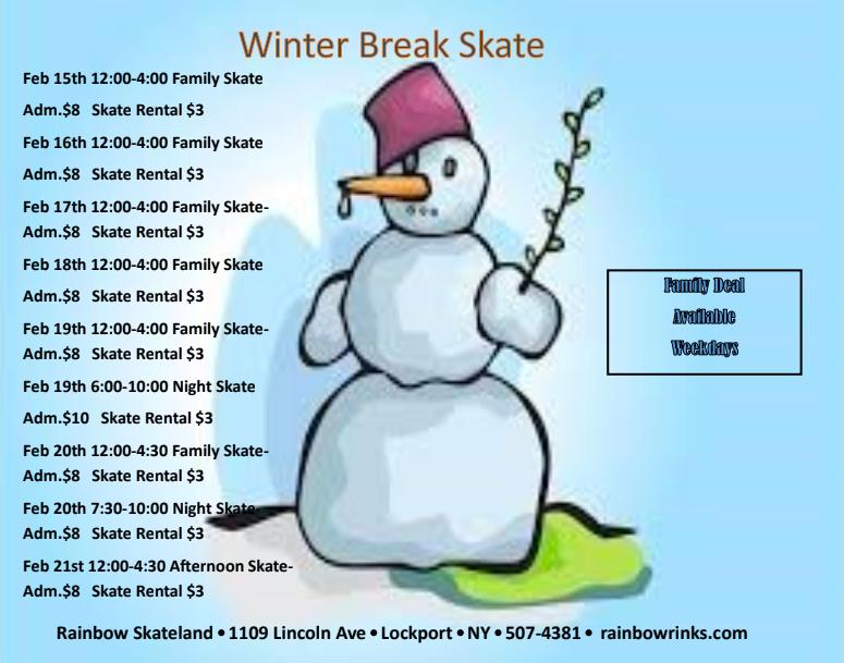 Rainbow Skateland - Winter Break 2021