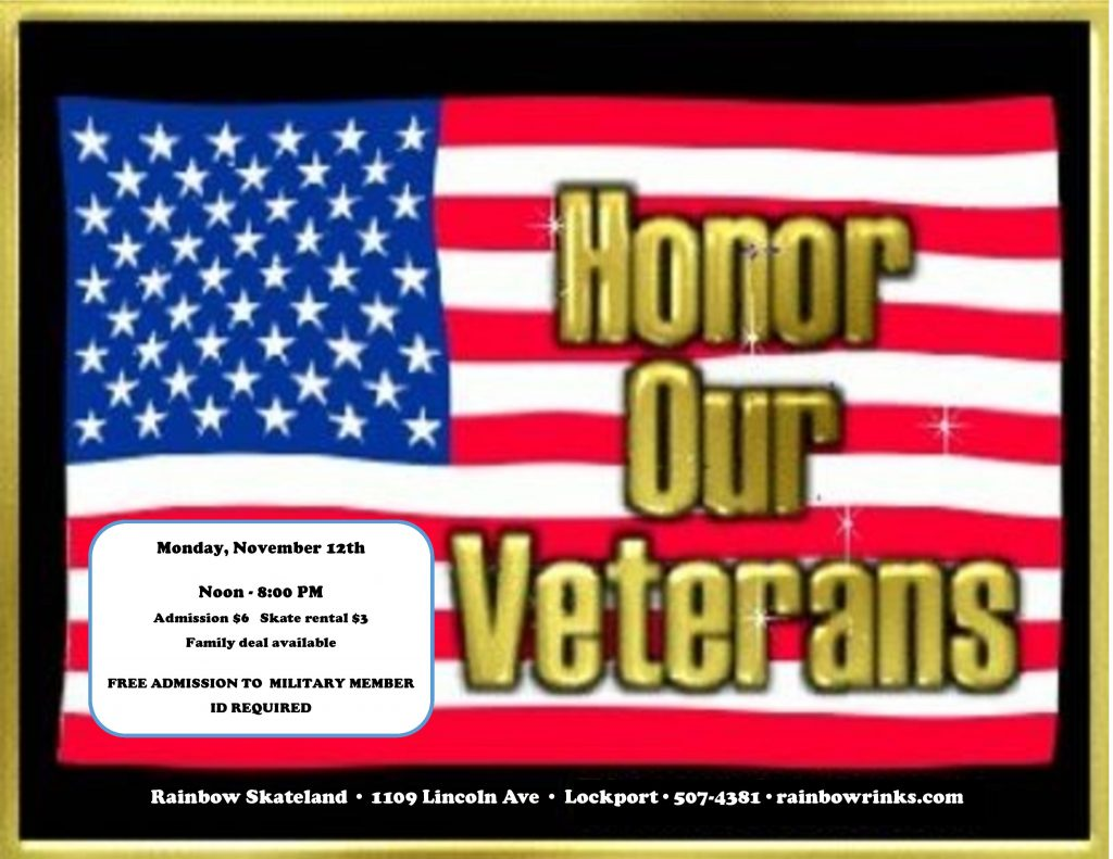 VETERANS DAY – skateland