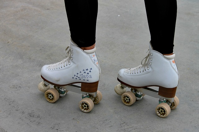 Customized roller skates